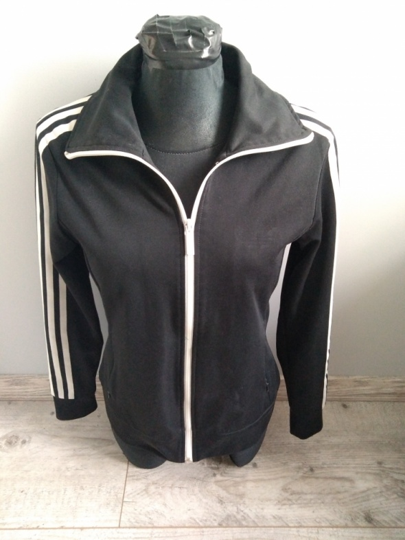 Oryginalna czarna bluza Adidas rozmiar M 38