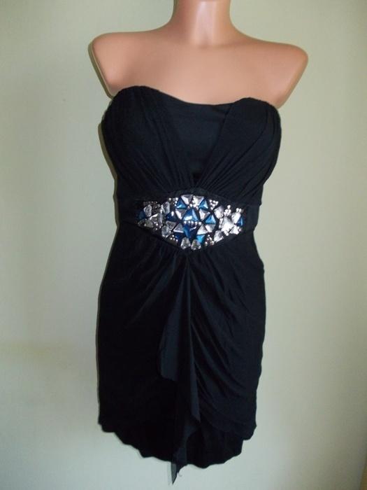 Sukienka ołówkowa z kryształkami Jane Norman 38 40...