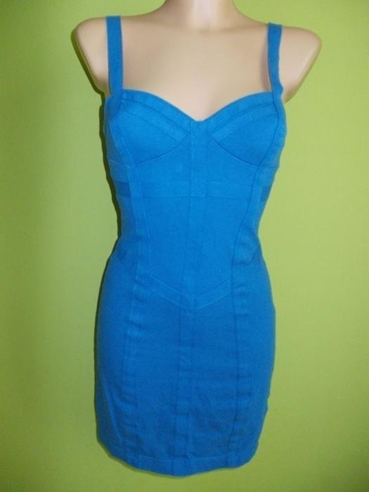 Sukienka ołówkowa niebieska Miss Selfridge 34 36...