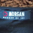 Bluzka z cekinami czarna MORGAN 36 38