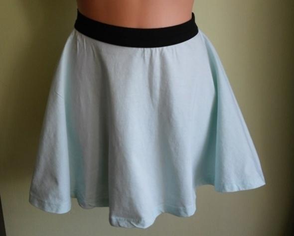 Spódnice Spódnica rozkloszowana miętowa Terranova 36 38