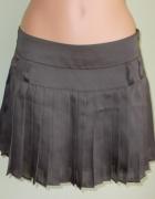 Spódnica plisowana brązowa mini Reserved 36 38...