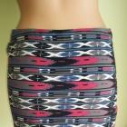 Spódnica mini w aztecki wzór Fishbone 38 40