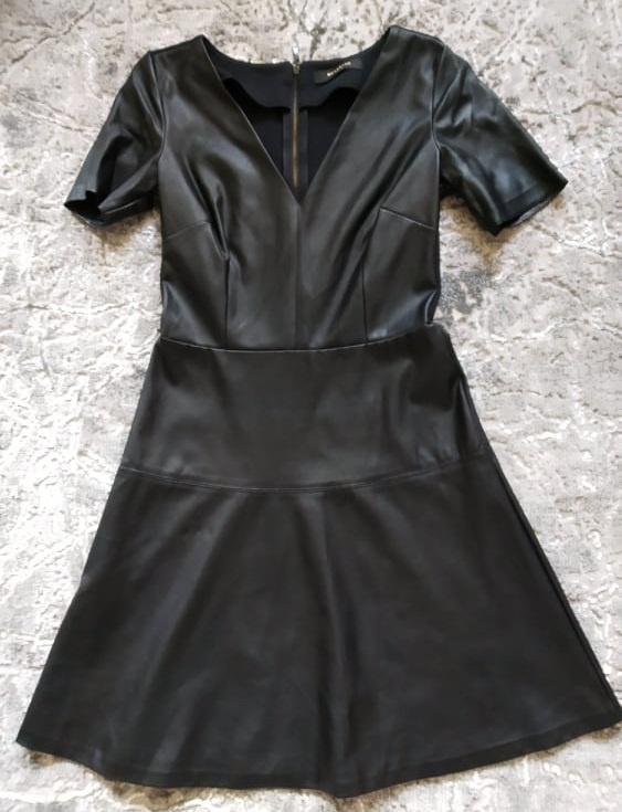 Skórzana sukienka Reserved S...