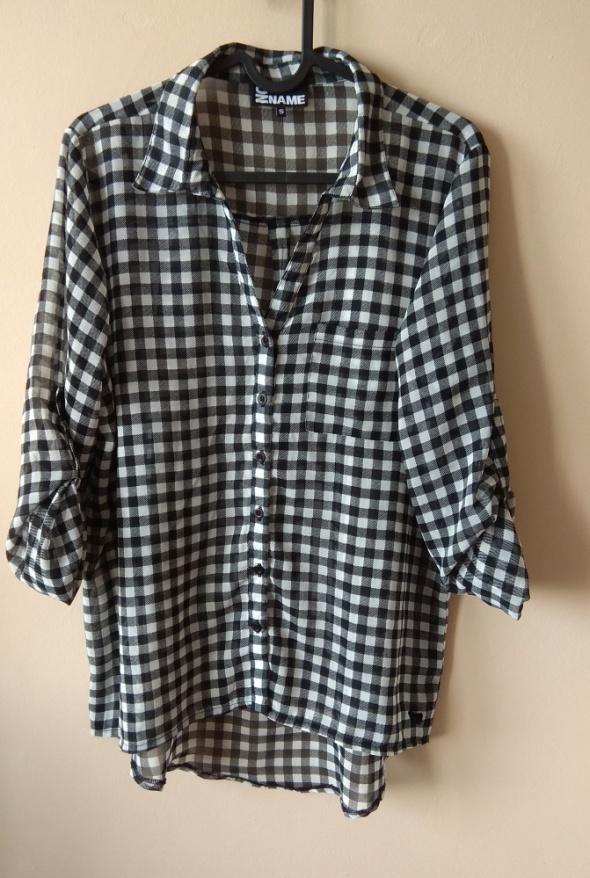 Koszule koszula w kratę r S 36