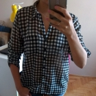koszula w kratę r S 36