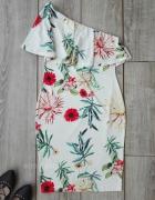 shein sukienka hiszpanka falbany kwiaty L 40...