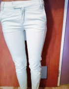 Miętowe spodnie stradivarius xs...
