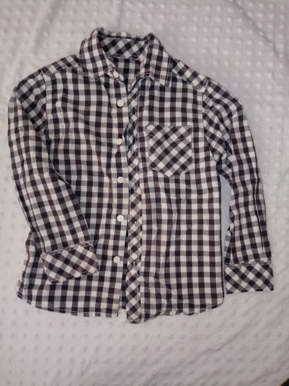 koszula w kratę H&M
