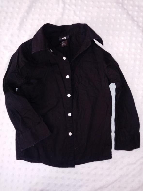 koszula czarna H&M