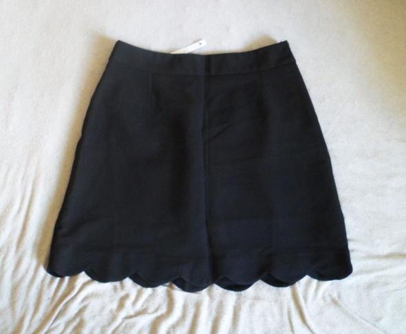 Nowa z metką Asos czarna spódniczka mini krótka...