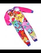 Piżama śpioch pajac Pokemony kombinezon 110 122...