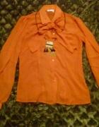 Koszula pomarańczowa Orsay z kokardą...