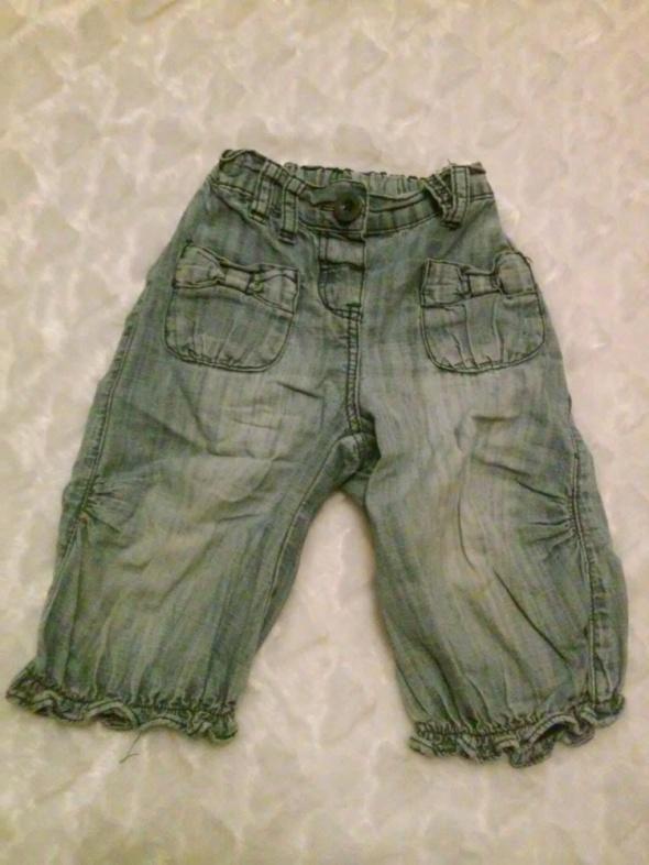 Spodnie i spodenki Dżinsy z falbanką