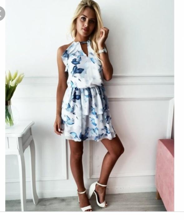 Sukienka sandrin blue