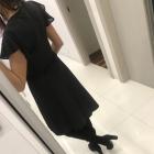 Zjawiskowa czarna Sukienka