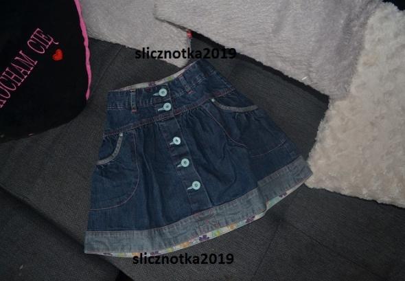 Spódniczka jeansowa 5 lat 110cm