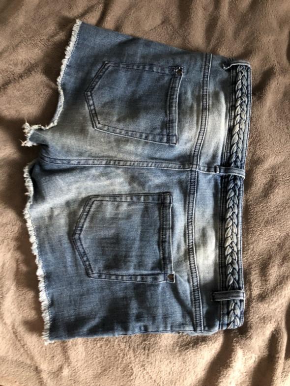 Szorty jeansowe...