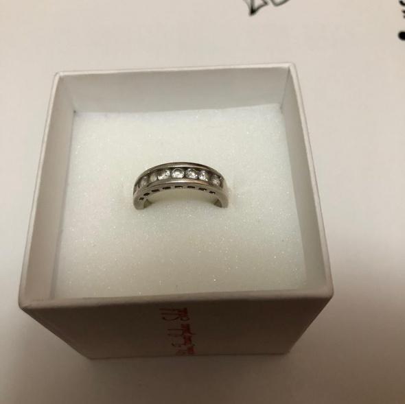 Pierścionki Śliczny srebrny pierścionek 925 duży rozmiar