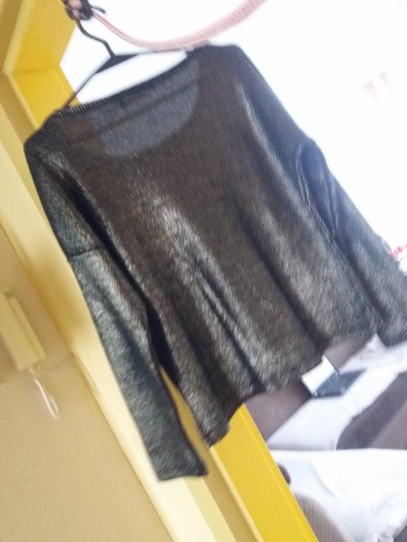 Czarno złoty sweter Reserved...