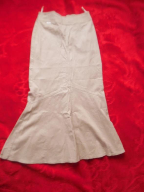 Spódnice Maxi beżowa 38