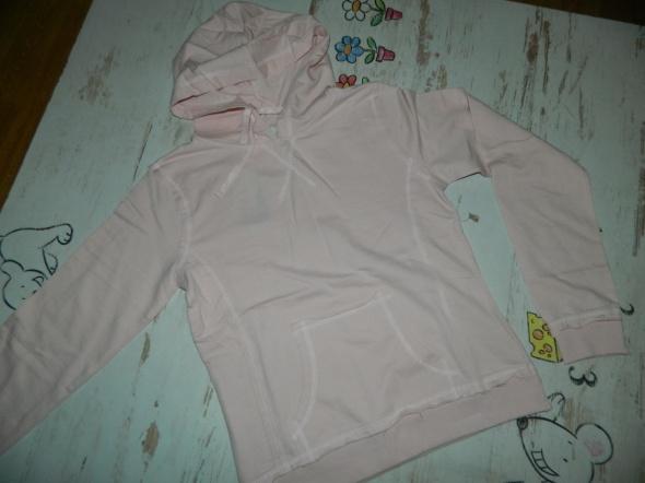 New Look bluza z kapturem RÓŻ roz 152