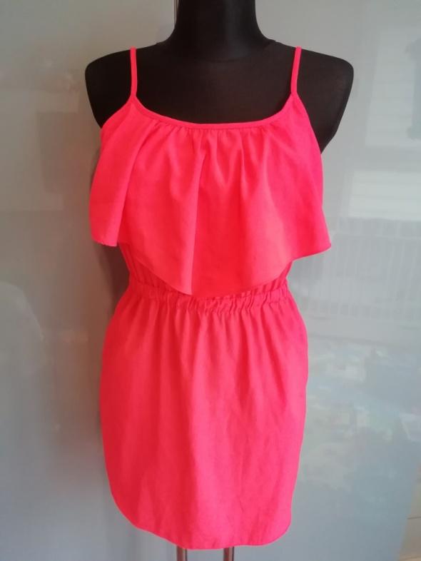 Suknie i sukienki Pomarańczowa