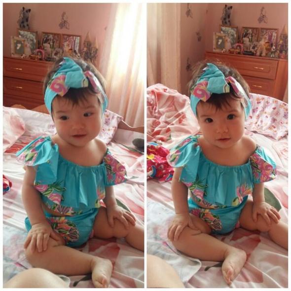Bielizna dziecięca Nowy strój kąpielowy bikini dziewczęce dziecięce 1 rok 12 miesięcy