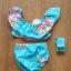 Nowy strój kąpielowy bikini dziewczęce dziecięce 1 rok 12 miesięcy