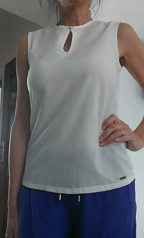 Cudna modna Modna elegancka biała bluzka Mohito M 38