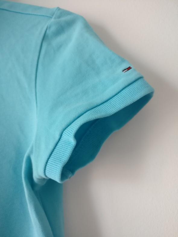 różne kolory innowacyjny design buty na codzień Tommy Hilfiger denim niebieska koszulka polo polówka S M w ...