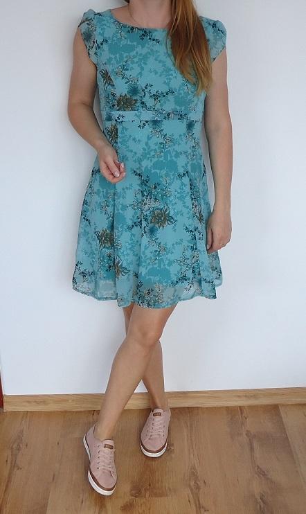 sukienka mgiełka 36
