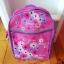 Jak nowy plecak dla dziewczynki piórnik gratis