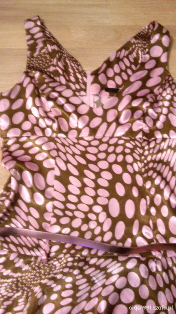 Sukienka w groszki Tally Weijl M...
