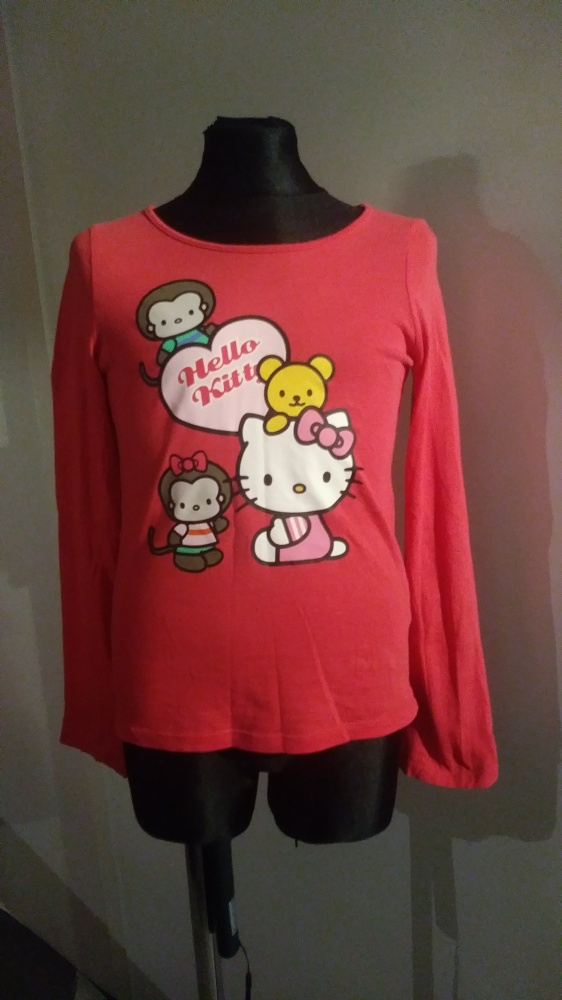 Bluzki bluzka 122 128 Hello Kitty H&M
