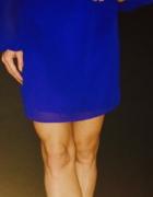 Lipsy Embellished Neck Chiffon Mini Shift Dress
