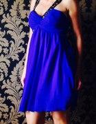 Lipsy kobaltowa sukienka...