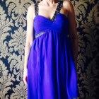 Lipsy kobaltowa sukienka