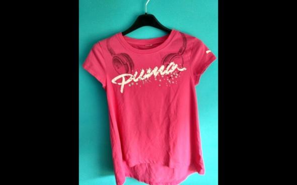 Różowa koszulka z krótkim rękawem PUMA 34 lub 36...