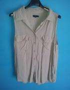 Beżowa koszula bez rękawów Gap S...