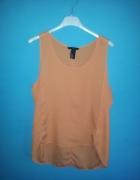 Pomarańczowa koszula bez rękawów 38...