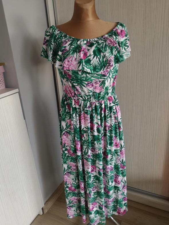 Cavaricci sukienka hiszpanka maxi 42 44 nowa