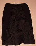 Czarna spódnica drapowana...