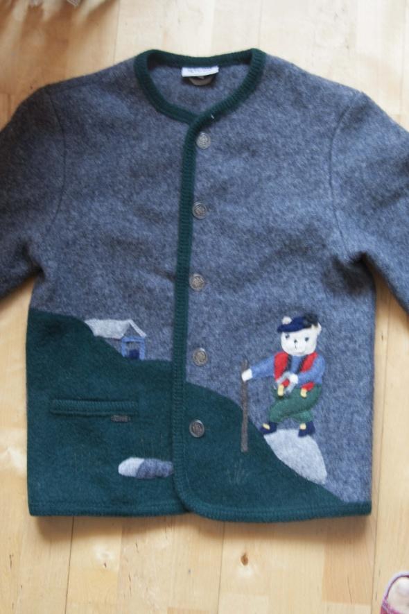 wełniany sweter 140