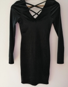 Czarna elegancka sukienka Primark 34 XS...