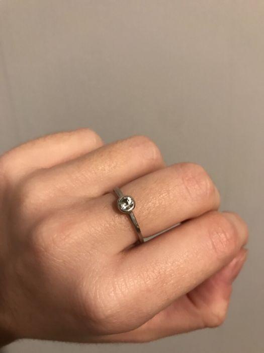 srebrny pierścionek Yes Rings rozm 12 13...