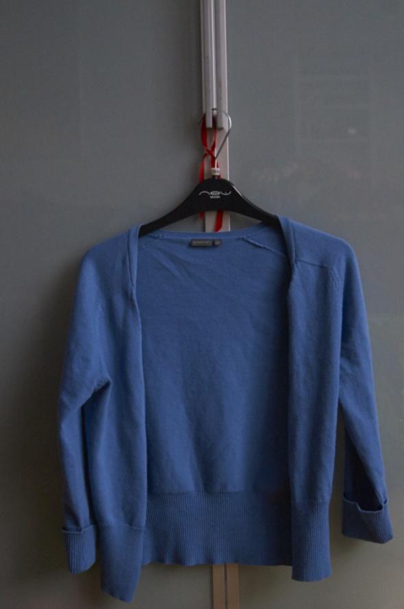 Sweterek blue rozpinany...