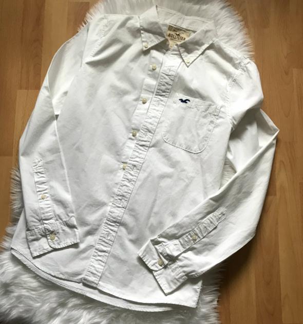 Biała koszula XL Hollister