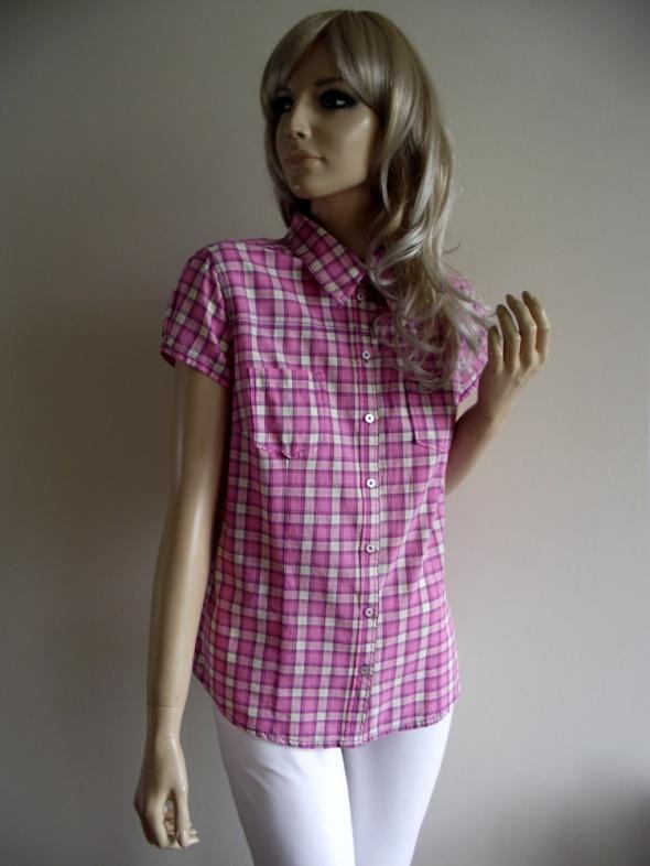 Świetna koszula z krótkim rękawem w kolorową kratkę H&M