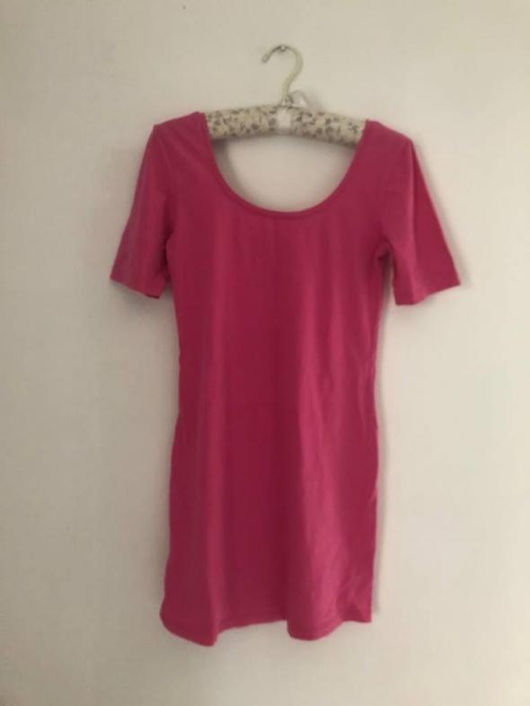 Tunika bluzka neon roż bluzeczka GINA TIRCOT